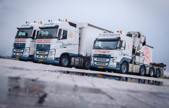 Zware Volvo's voor Jan van Dam