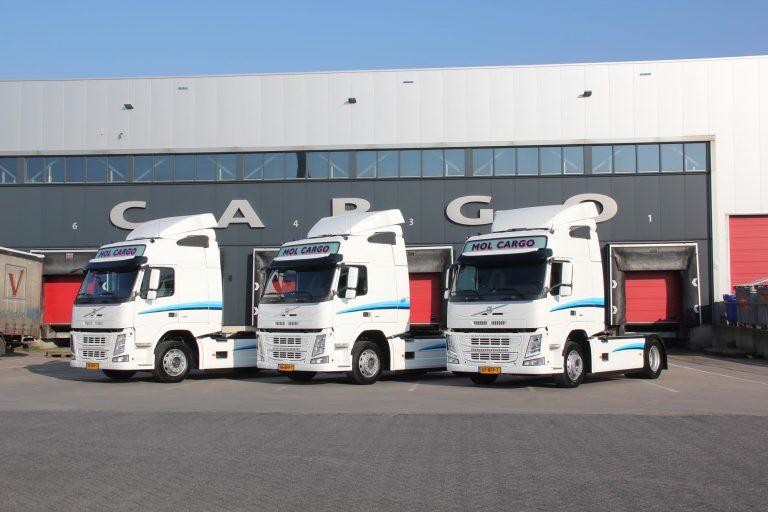 Volvo FM 370's voor Mol Cargo
