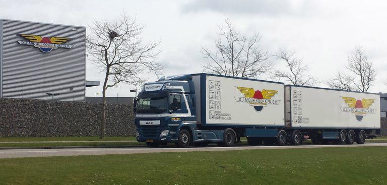 Nieuwe DAF's D.J. Middelkoop