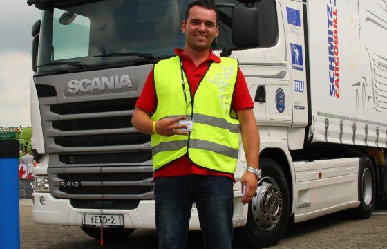 Spannend weekend: Scania YETD-finale