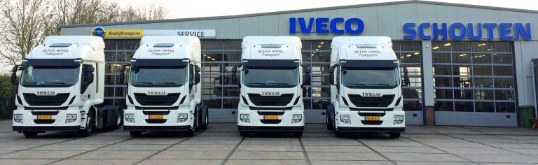 Iveco Stralis LNG voor Peter Appel Transport