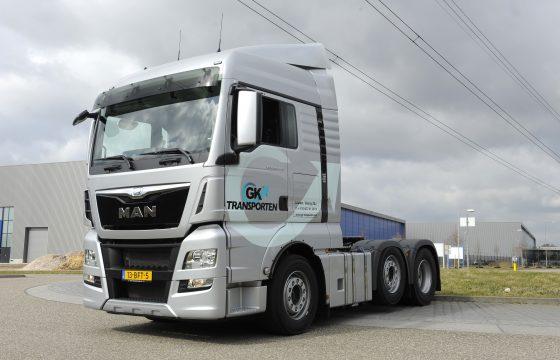 MAN TGX 26.440 voor GK Transporten