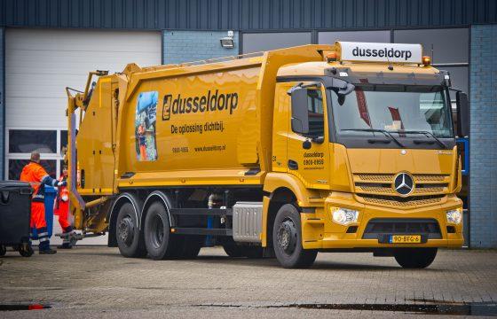 Mercedes-Benz Antos voor Dusseldorp