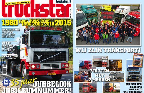 Truckstar bestaat 35 jaar!