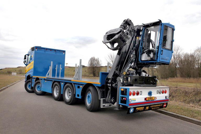 Zware FH's voor het bouwvervoer