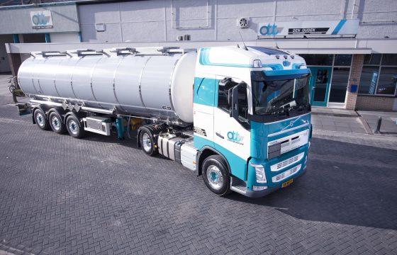 50ste Volvo voor Den Ouden Tanktransport