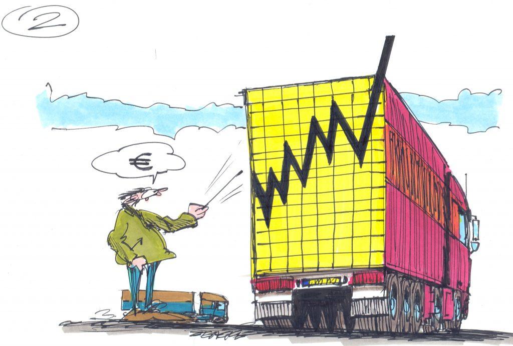 Stijging eigenrijders 2 procent