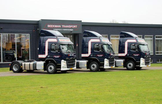 Drie Volvo FM 330's voor Beekman