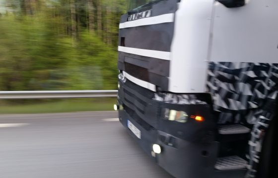 Sneak preview nieuwe Scania