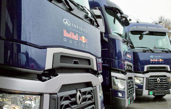 Renault T520's voor F1-team Red Bull