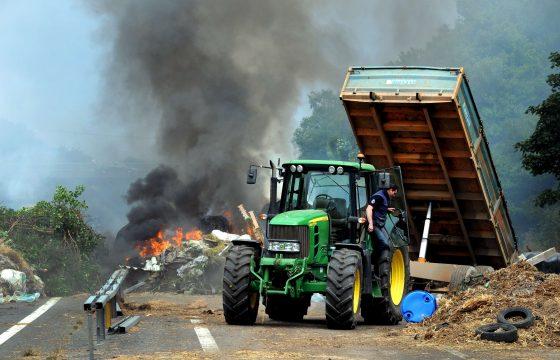 NL wil harde aanpak Franse boeren