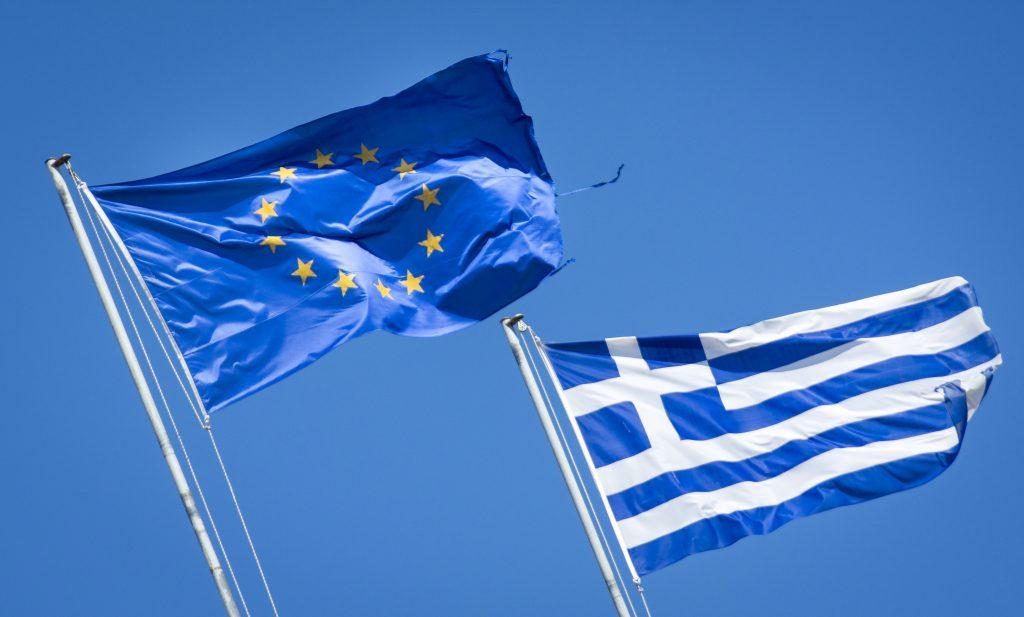 Griekse chauffeurs gestrand