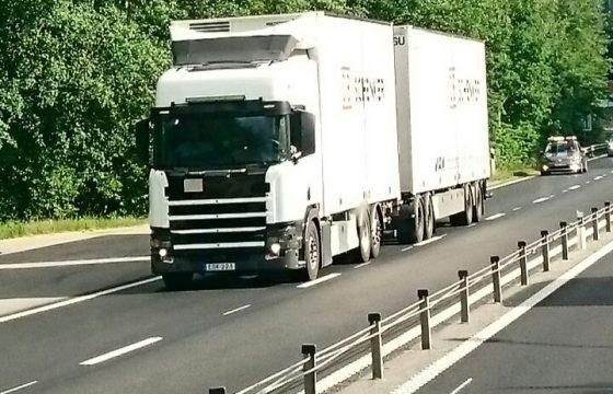 Opnieuw nieuwe Scania's gespot