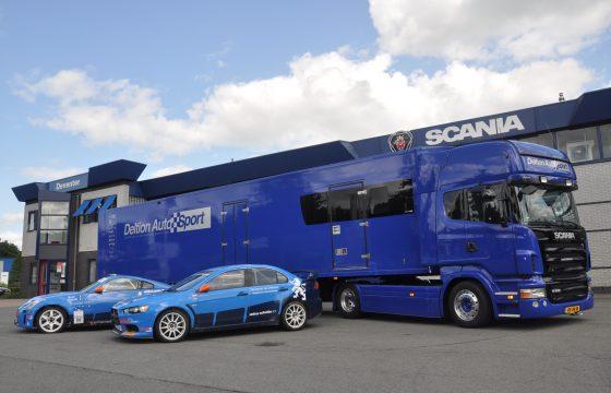 Scania voor studenten rally-team