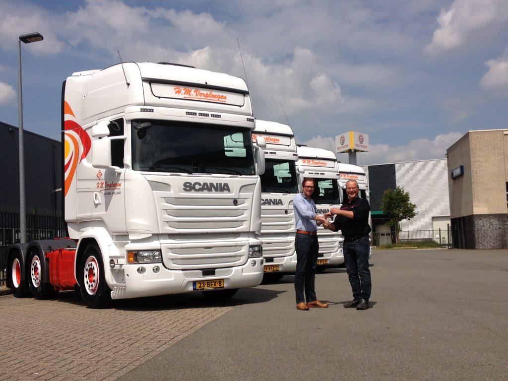 H.M. Verploegen koopt Scania G450's