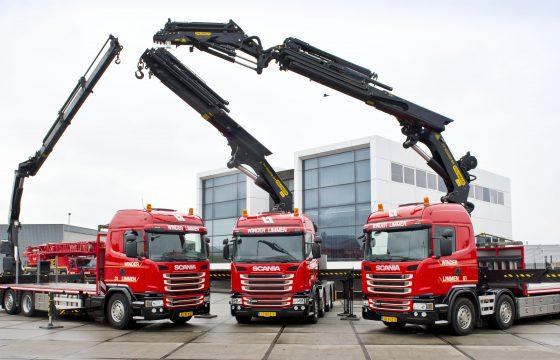 6 Scania's voor Winder Limmen