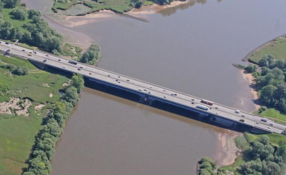 Zuidelijke Elbebrug weer open