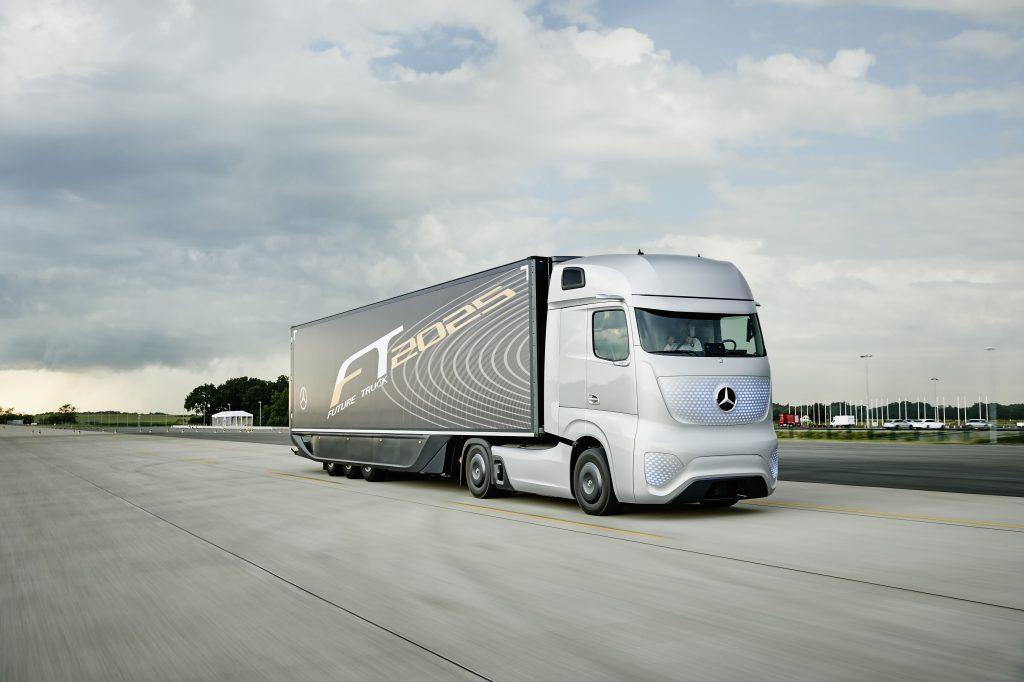 Zelfrijdende truck mag Duitse weg op