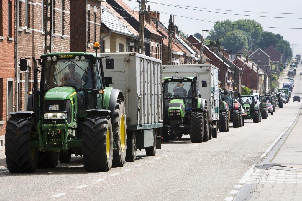 Blokkades boze Belgische boeren - update