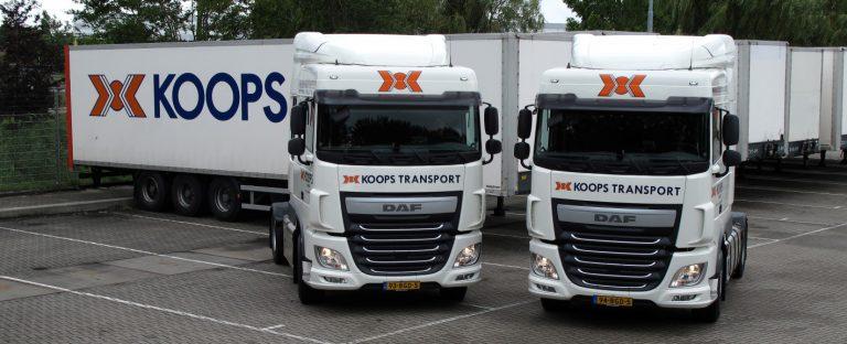 DAF XF 440-trekkers voor Koops Almere