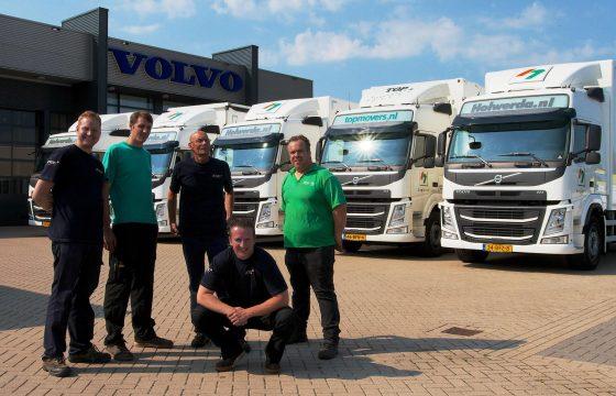 FM-bakwagens voor Holwerda
