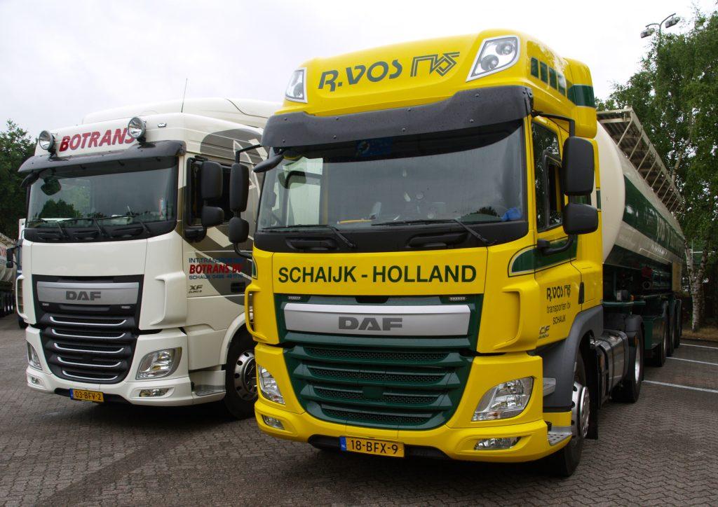 11 nieuwe DAF's R. Vos Schaijk