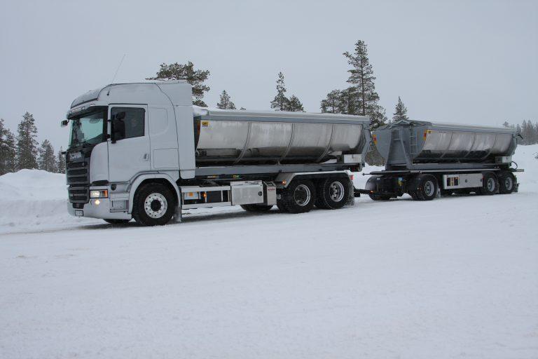 Op Noorse winterwegen