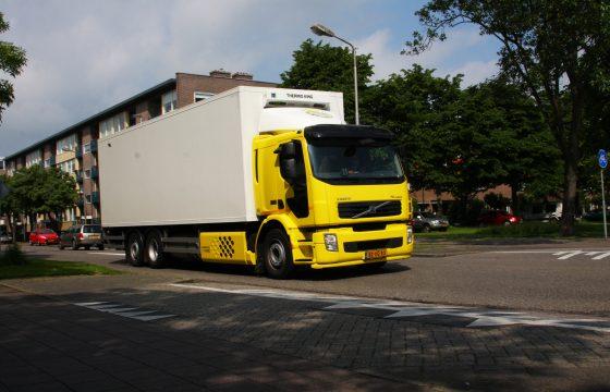 Bevoorradings-omweg Amsterdam