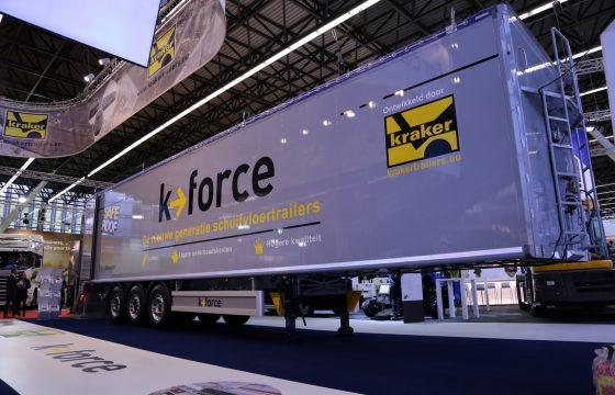 Kraker K-Force geboute oplegger
