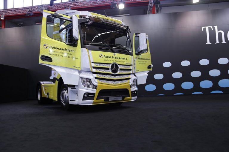 RAI: Bijzondere trucks bij Mercedes