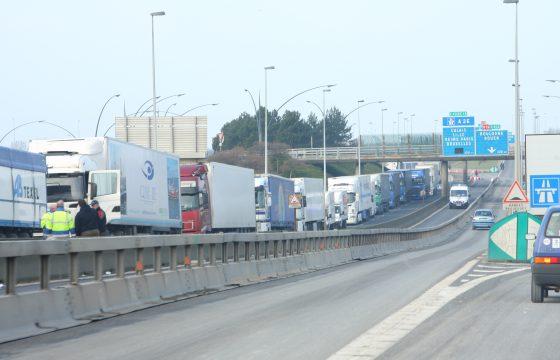 Eurotunnel voor tweede dag stilgelegd