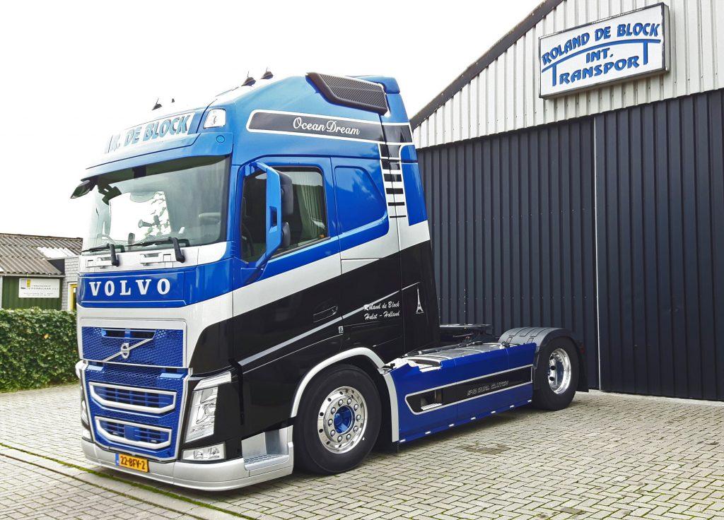 Nieuw aanzien voor 'onze' Volvo FH