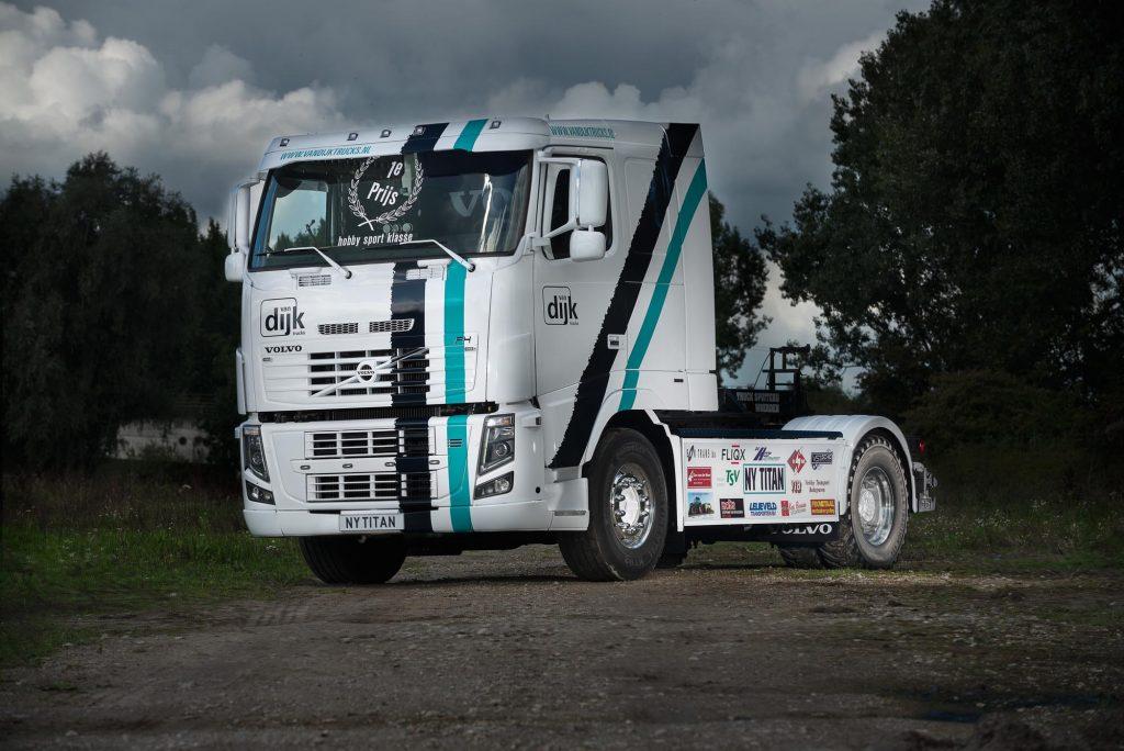 Van Dijk kampioen truckpulling 9,5 ton