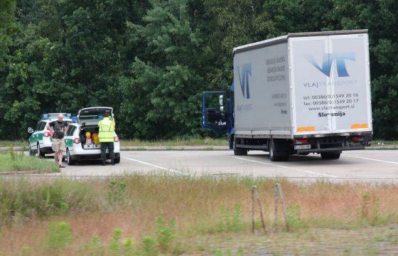 Politieontrole Duitsland