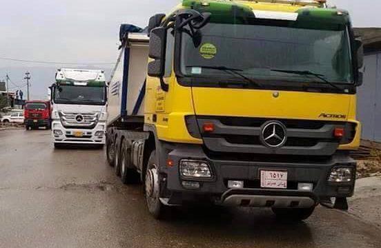 Gestolen truck blijkt in Irak