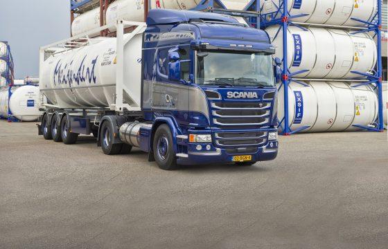 ADR-gekeurde Scania G340 op LNG