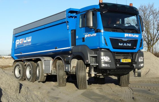 MAN 50-tonner voor Theo Pouw