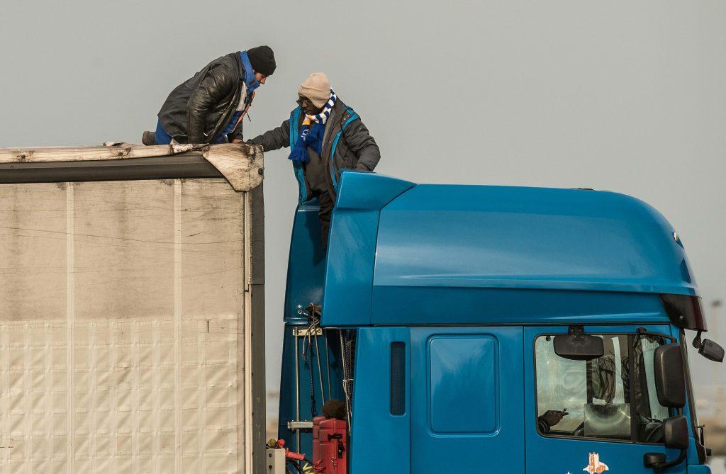 Drukte en chaos in Calais