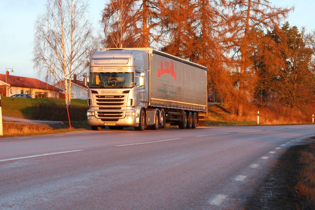 App voor Scandinavië-truckers
