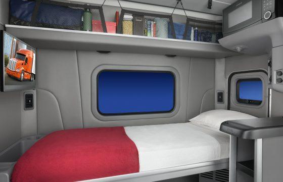 'Korte' slaapcabine van Peterbilt