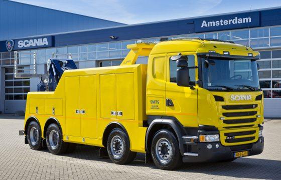 Scania G410 heavy wrecker Smits Berging