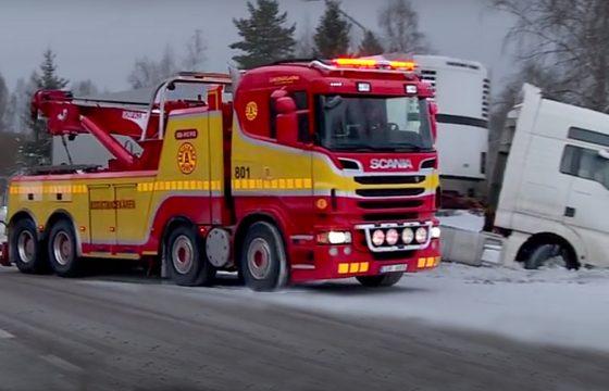Winterse berging - Video