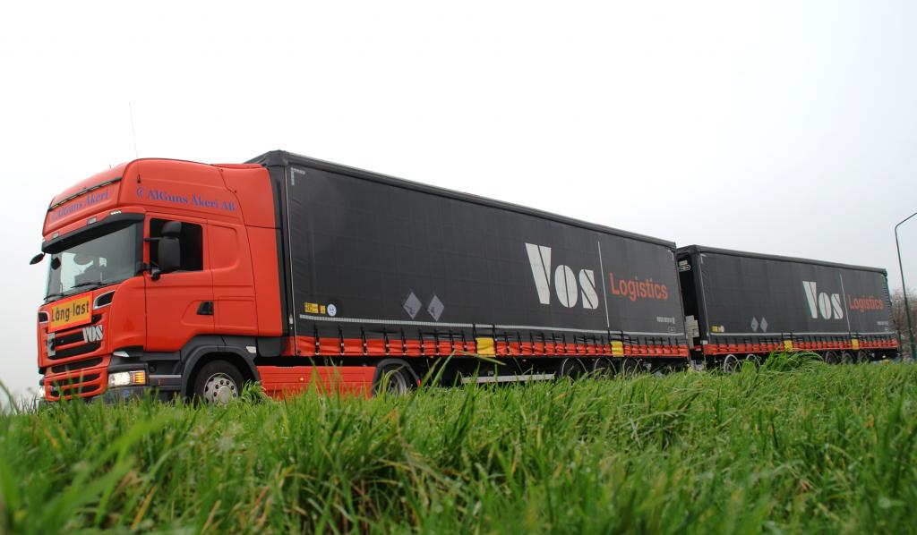 Vos Logistics test LZV van 32 meter