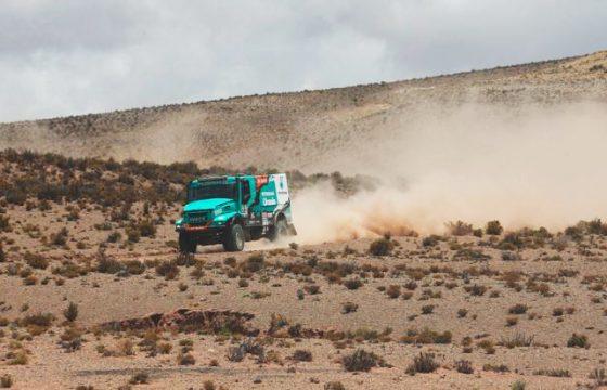 IJzersterke 4e Dakar-etappe