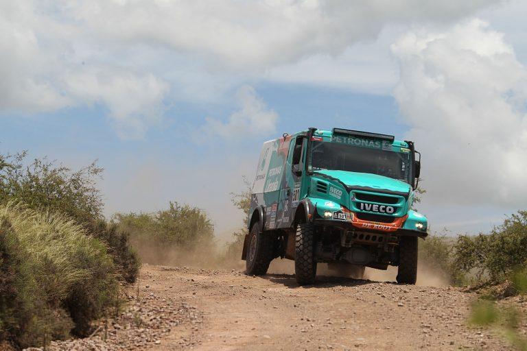 Nederlands podium Dakar etappe twee