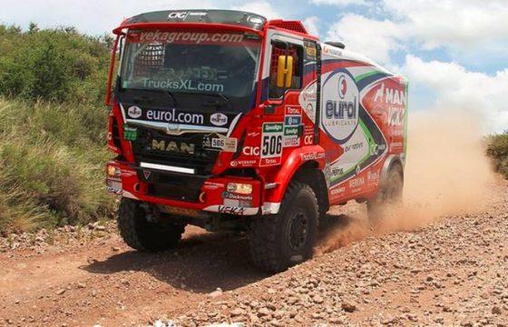 Stacey leidt truckklassement Dakar