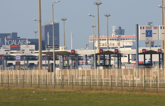 Acties haven Calais beëindigd