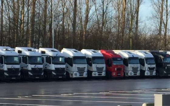 Oost-Europese chauffeurs keren terug