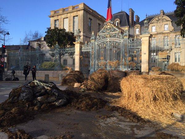 Blokkades boze boeren krimpen