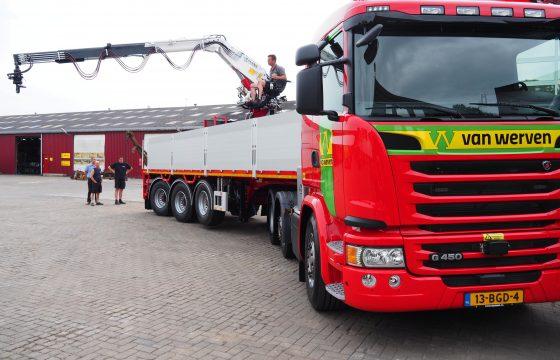 Zeven Scania's voor Van Werven